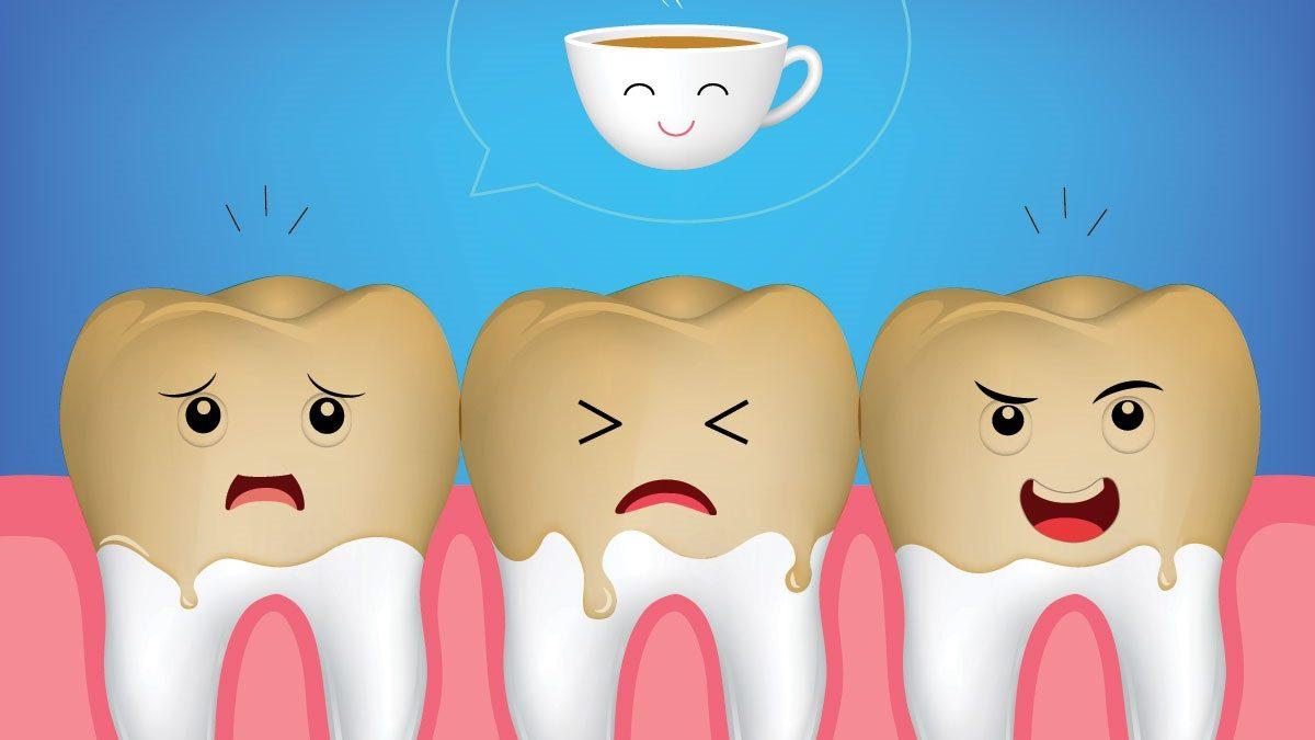 6 1 1200x675 - ایجاد لکه دندان ناشی از قهوه