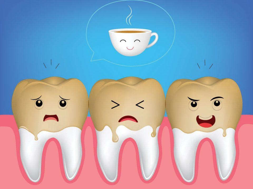 6 1 960x720 - ایجاد لکه دندان ناشی از قهوه
